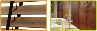 Wood Venetian 50mm